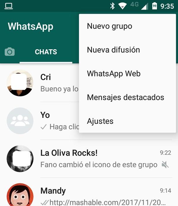 whatsapp web movil