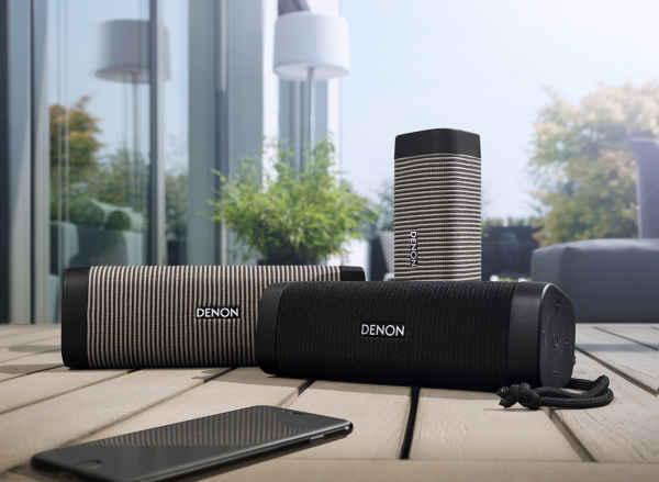 Denon Envaya, Mini y Pocket, tres alta-voces sin cables de calidad