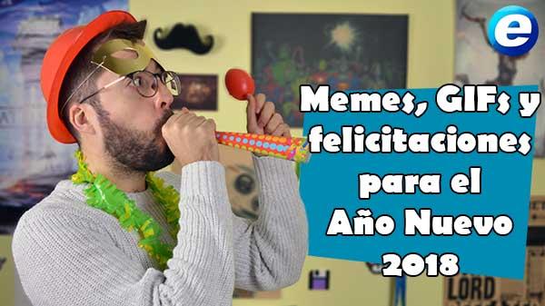 Memes, GIFs y felicitaciones para el Año Nuevo 2018