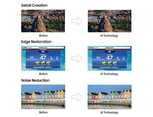 anuncio Inteligencia-Artificial del Samsung℗ QLED Q9S detalle