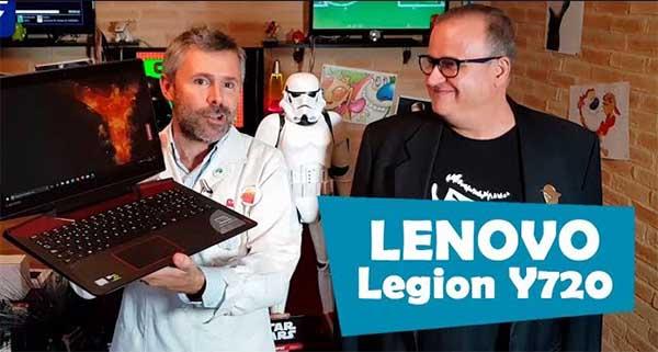 Así es el Lenovo℗ Legion Y720, te lo presentamos en vídeo