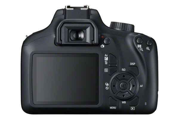 Canon EOS 4000D trasera