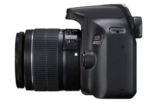 Canon EOS 4000D objetivo