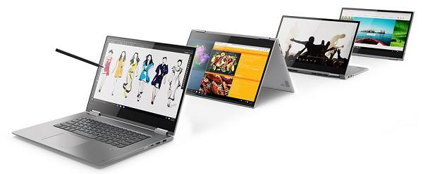 Lenovo Yoga 730 con pantalla de 15 pulgadas