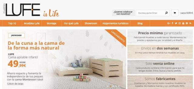 5 webs interesantes para comprar muebles baratos online nuevo m vil - Muebles lufe catalogo ...
