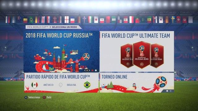 Cómo descargar y jugar al Mundial de Rusia(país) en FIFA 18