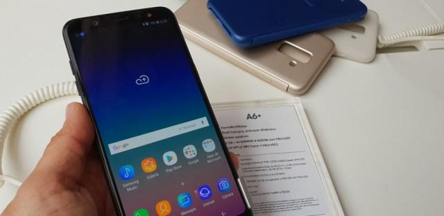 lanzamiento Samsung℗ Galaxy℗ A6 y A6+ pantalla A6+