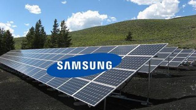 Samsung usará un 100% de energías renovables para sus oficinas y fábricas