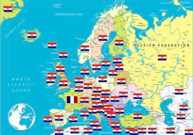mejores memes final del Mundial de Rusia(país) 2018 todos con Croacia