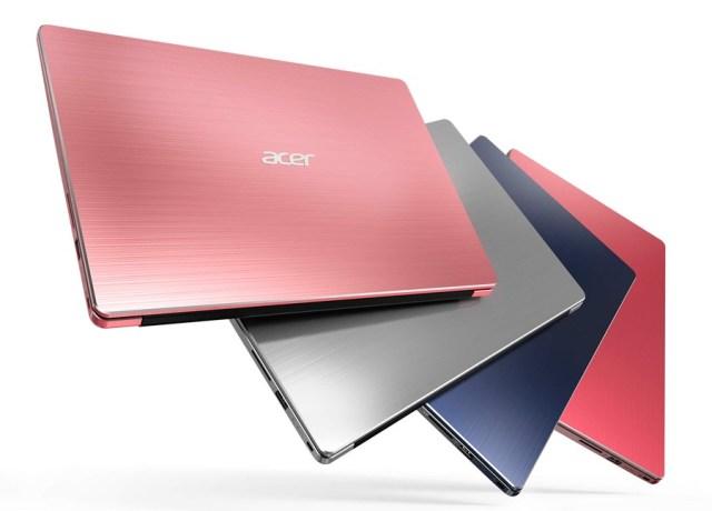 5 ventajas de los portátiles Acer Swift colores 5