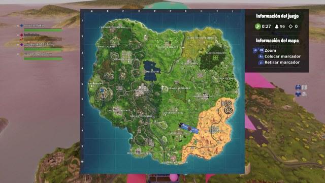 fortnite map general