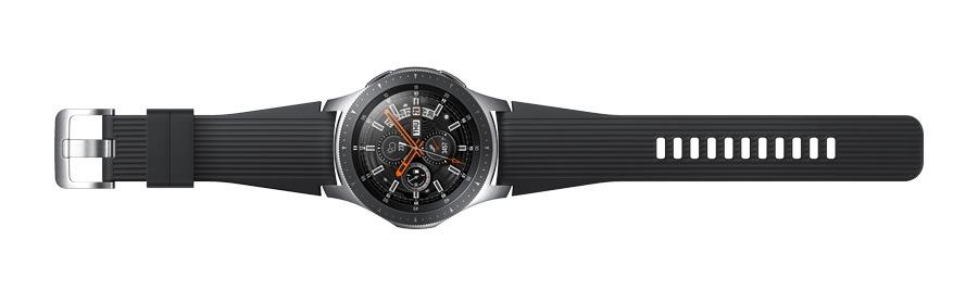 lanzamiento Samsung Galaxy Watch plata estirado