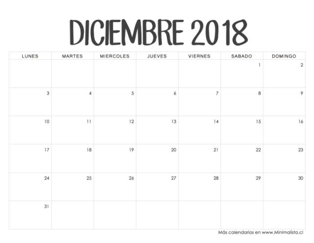 diciembre 2018