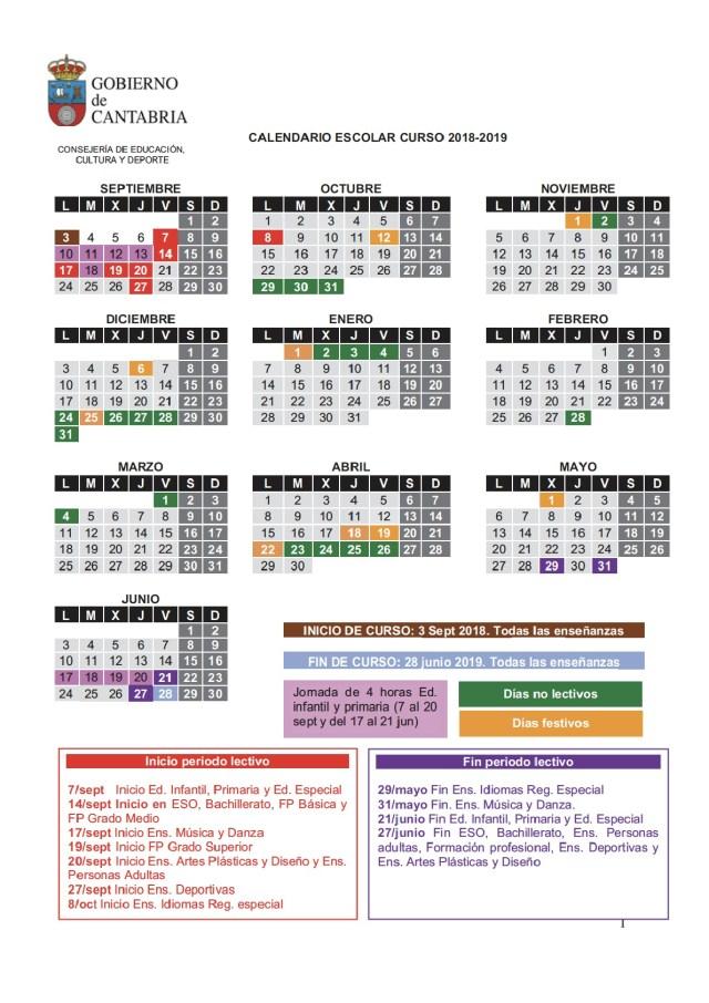 calendario cantabria