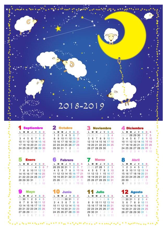 calendario escolar 2018-2019 tuexperto