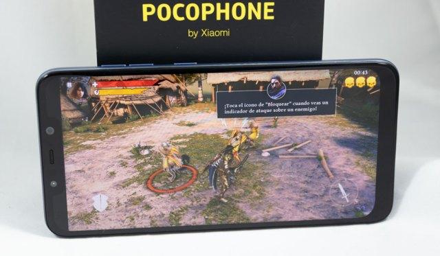 hemos probado POCOPHONE F1 juego