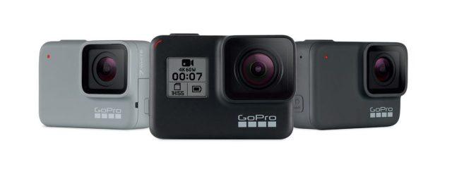 GoPro Hero7, tres nuevas cámaras de acción con distintos funciones