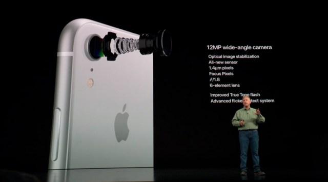 iphone xr cámara