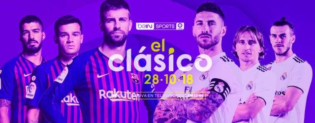 horarios y dónde visualizar por Internet el F.C. Barcelona - Real Madrid tvs