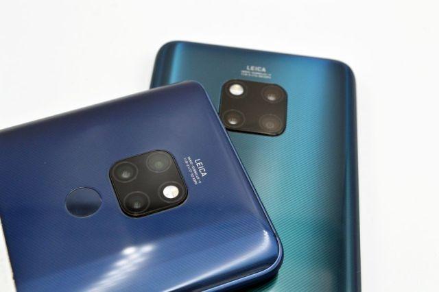 Huawei Mate 20 vs Huawei℗ Mate 20 Pro