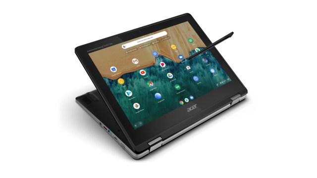 Acer Chromebook Spin 512, convertible de 12 pulgadas con lápiz acoplado