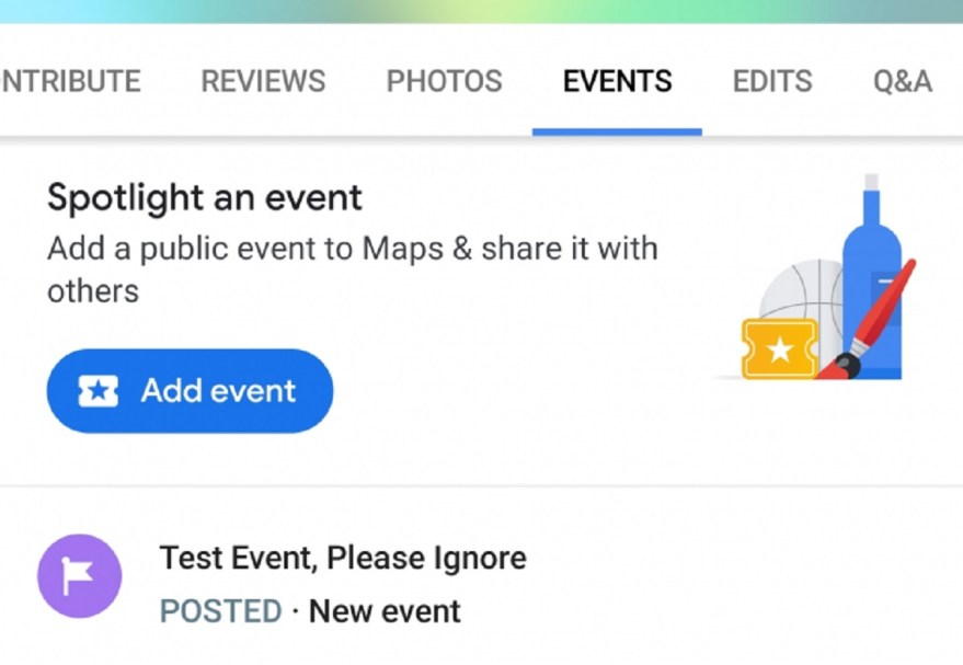 Resultado de imagen para crear eventos publicos en google maps