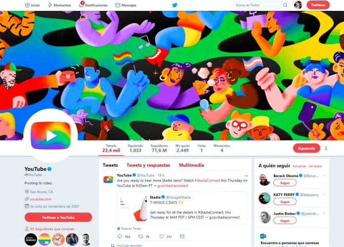 YouTube ondea la bandera gay pero mantiene canales con mensajes homófobos