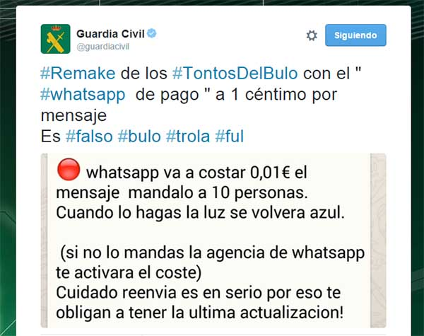 Bulo de WhatsApp