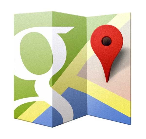 google maps terreno