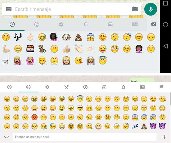 whatsapp web emoji unicode 8