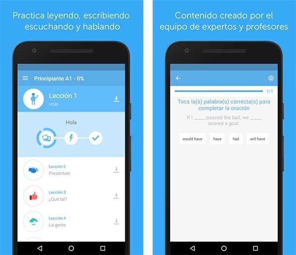 apps idiomas