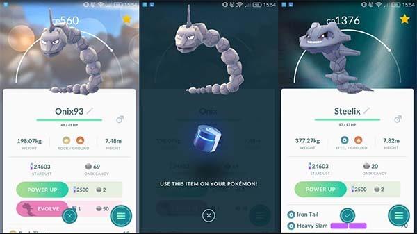 Pokémon GO actualizado