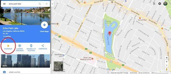 guardar sitios google maps