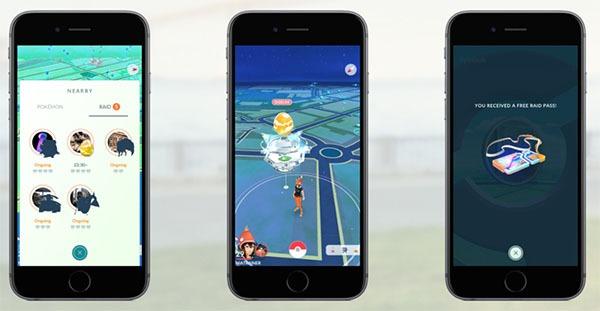 Incursiones Pokémon GO
