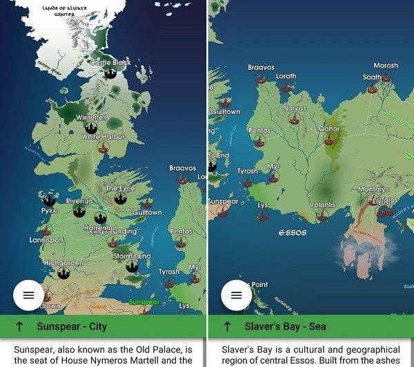 mapa juego tronos