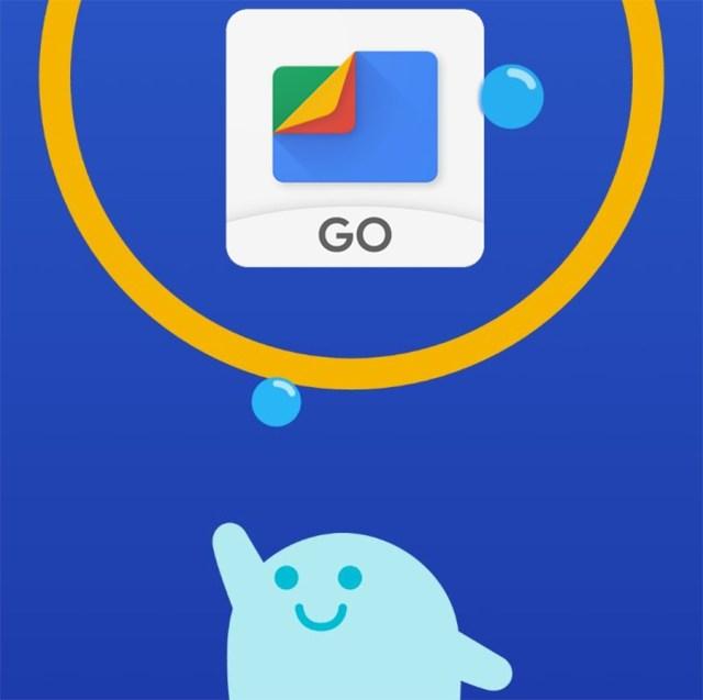Cómo guardar fotografiás y registros en ©Google Drive a través de Files Go