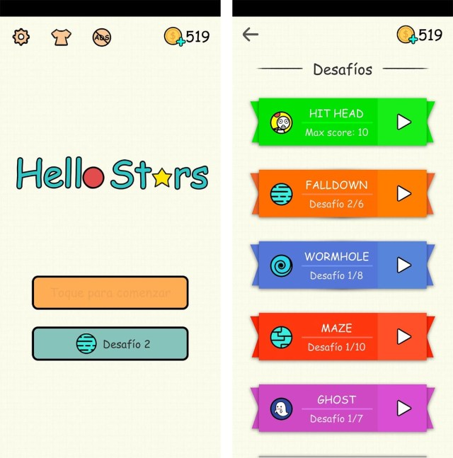 hello stars modos