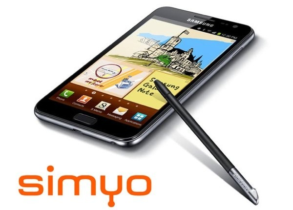 samsung galaxy note simyo 01