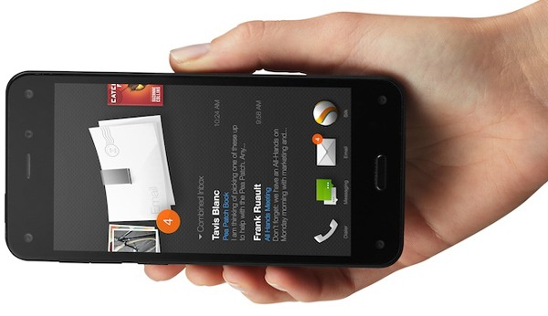Características curiosas del Amazon Fire Phone