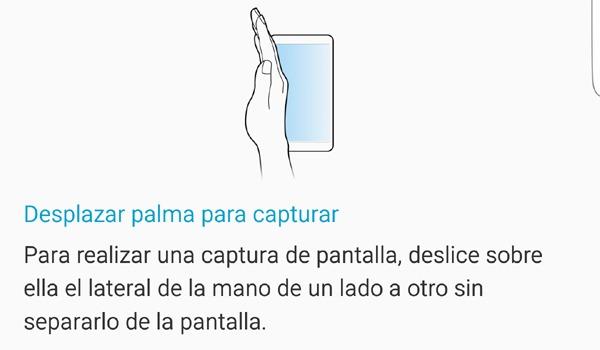 Hacer captura de pantalla en el Samsung Galaxy S6 Edge Plus