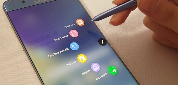 samsung galaxy note 7 funciones S Pen