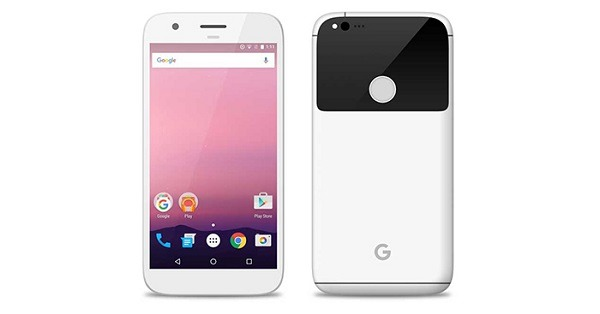 pixel front and back