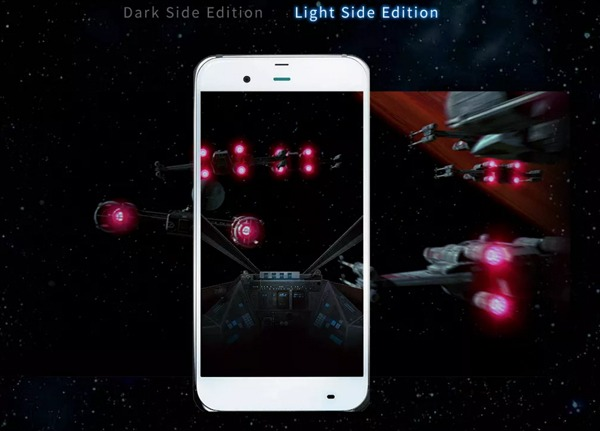 moviles star wars luz