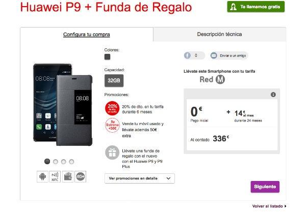 ofertas Vodafone navidad Huawei