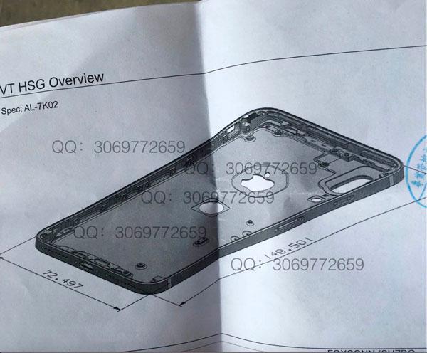 posible filtracion iPhone 8 lector de huellas