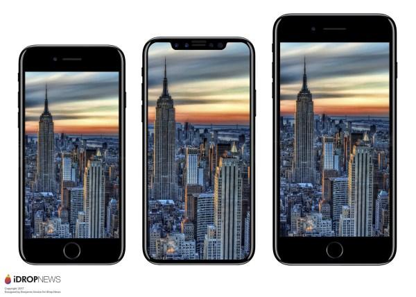 iPhone siete vs iPhone 8