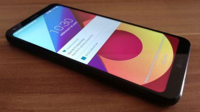 El LG Q6 empieza a actualizarse a ©Android 8.1