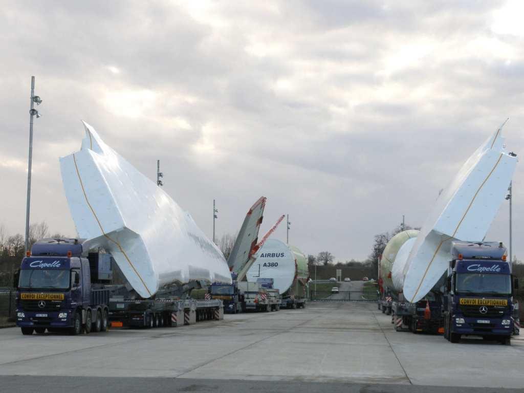 Airbus shrink wrap training