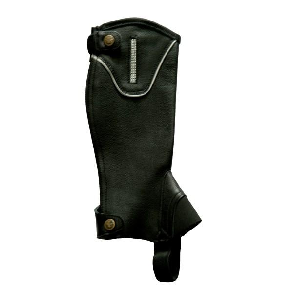 Gem Leather Gaiters