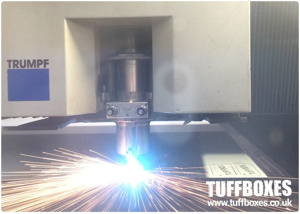 Tuffbox Keyring - Laser Cutting